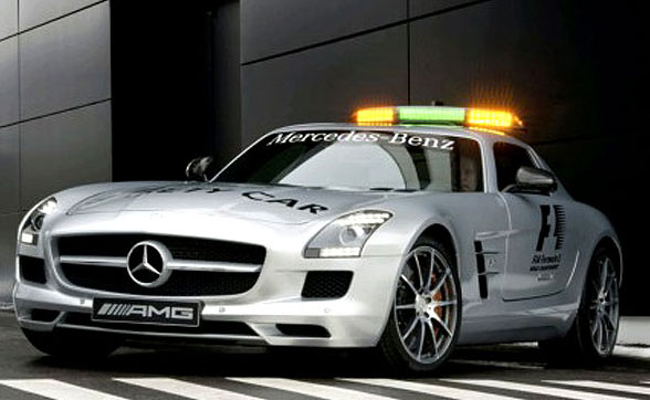 571-HP Mercedes-Benz SLS AMG