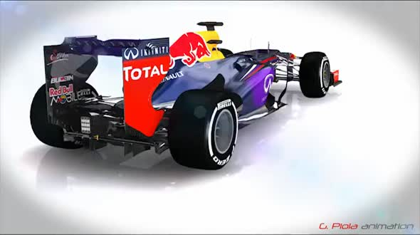 Red Bull RB10 vs Mercedes F1 W05